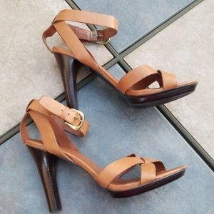Ralph Lauren Ankle Strap Heels